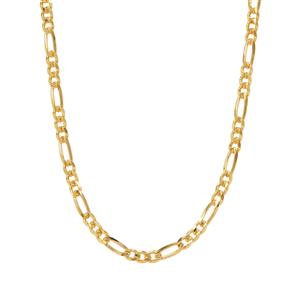 "36"" Midas Couture Diamond Cut Figaro Chain 5.35g"