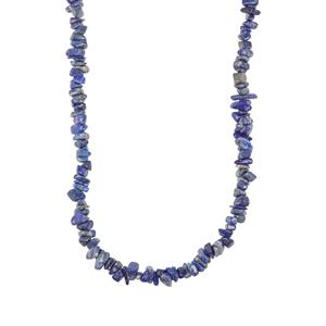 Lapis Lazuli Nugget Bead Necklace 650cts