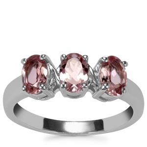 Kaffe Tourmaline Ring in Sterling Silver 1.38cts