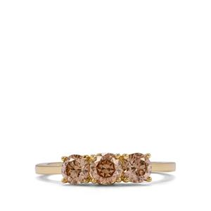 Argyle Diamond Ring in 18K Gold 1.05ct