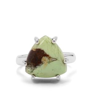 9ct Queensland Chrysoprase Sterling Silver Aryonna Ring