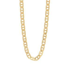 "18"" Midas Tempo Diamond Cut Mariner Chain 2.65g"