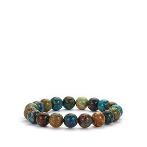 Multi-Colour Azurite Stretchable Bracelet 129cts