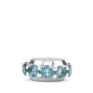 Marambaia London Blue Topaz Kama Charm in Sterling Silver 1.33cts