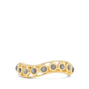 0.61ct Cats Eye Alexandrite 9K Gold Ring