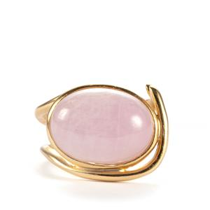 Kunzite Sarah Bennett Ring in Sterling Silver 10.88cts