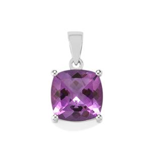 Moroccan Amethyst Pendant in Sterling Silver 6cts
