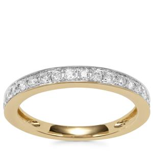 Canadian Diamond Ring in 18K Gold 0.34ct