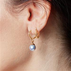 Molte Mini Geo Hoop Earrings in 9K Gold