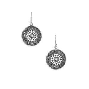 Sterling Silver Samuel B Earrings 6.10g