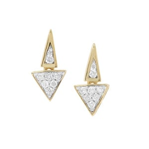 Argyle Diamond Earrings in 9K Gold 0.26ct