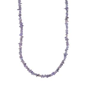 Tanzanite Nuggets Bead Necklace 400cts