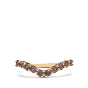 Bekily Colour Change Garnet Ring in 10K Gold 0.80ct