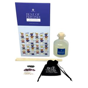 Best Of British Reed Diffuser- Afternoon Tea Fragrance - Garnet Moonstone & Sapphires ATGW 30cts