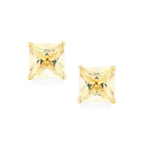Serenite Earrings in 10k Gold 4.43cts