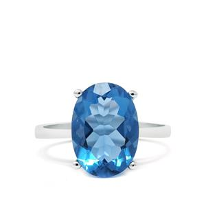 6.79ct Colour Change Fluorite Sterling Silver Ring