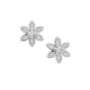 1/20ct Diamond Sterling Silver Earrings