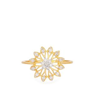 1/5ct Diamond Ring  in 9k Gold