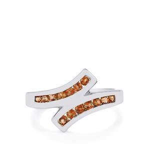 Gouveia Andalusite Ring in Sterling Silver 0.50cts