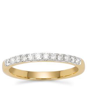 Diamond Ring in 18K Gold 0.26ct