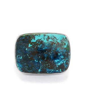 17ct Shattuckite Sterling Silver Ring