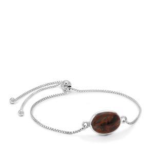 Arizona Pietersite Bracelet in Sterling Silver 6cts