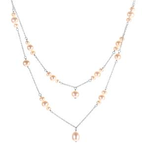 Kaori Cultured Pearl Sterling Silver Necklace