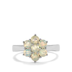 Ethiopian Opal Ring  in Sterling Silver 0.74ct