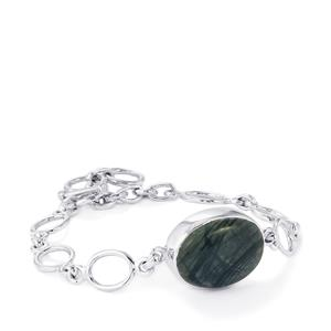 Picasso Jasper Bracelet in Sterling Silver 16cts