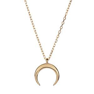 """18"""" 9K Gold Slider Necklace 1.20g"""