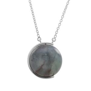 53.21ct Aquaprase™ Sterling Silver Necklace