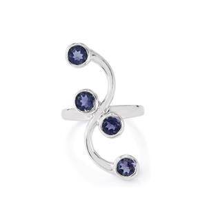 1.60ct Bengal Iolite Sterling Silver Ring