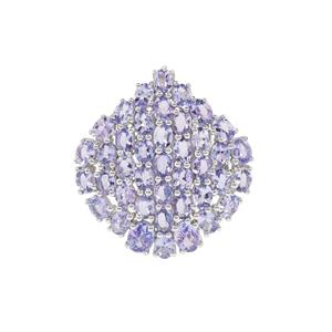 Tanzanite Pendant in Sterling Silver 6.78cts