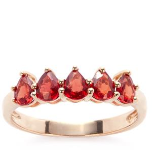 Winza Ruby Ring in 9K Gold 1.35cts
