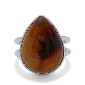 Montana Agate Ring in Sterling Silver 14.83cts
