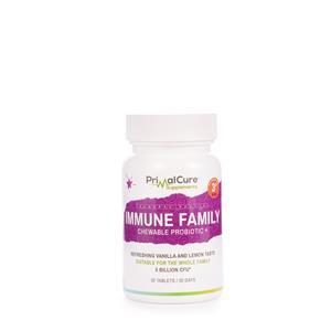 Immune family chewable probiotic