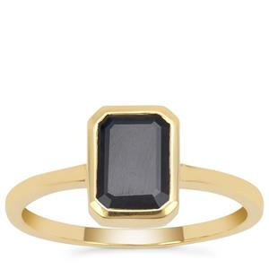 Ethiopian Blue Sapphire Ring in 9K Gold 1.86cts