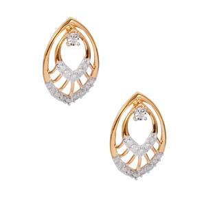 1/4ct Diamond 10K Gold Earrings