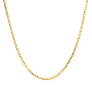 "30"" Midas Tempo Diamond Cut Franco Chain 4.02g"