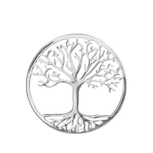 Tree Of Life Sterling Silver Disc 3.35g