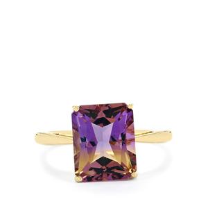 Anahi Ametrine Ring in 9K Gold 4.08cts