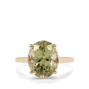 Sillimanite Ring in 10k Gold 4.68cts