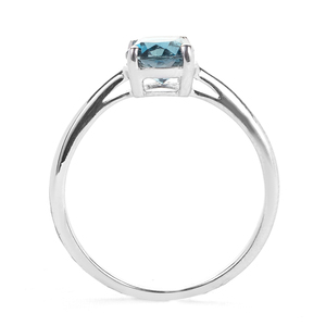 Ceylonese London Blue Topaz Ring in Sterling Silver 1.58cts