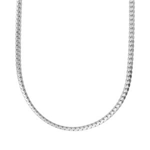 "30"" Sterling Silver Classico Oval Curb Chain 3.12g"