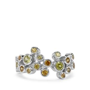 Ambilobe Sphene Ring in Sterling Silver 1.63cts