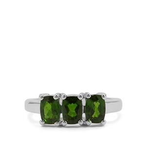 Chrome Diopside Ring in Sterling Silver 1.69cts
