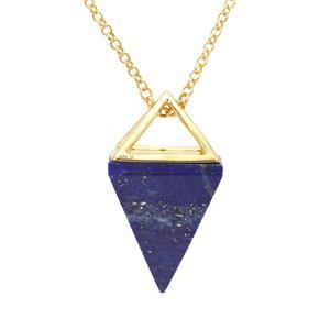 30ct Sar-i-Sang Lapis Lazuli Midas Pendant Necklace