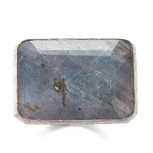 Labradorite Sarah Bennett Ring in Sterling Silver 25.23cts