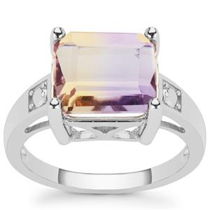 Anahi  Ametrine Ring in Sterling Silver 4.40cts