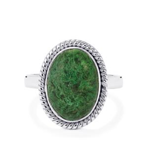Jadeite Ring in Sterling Silver 5.40cts